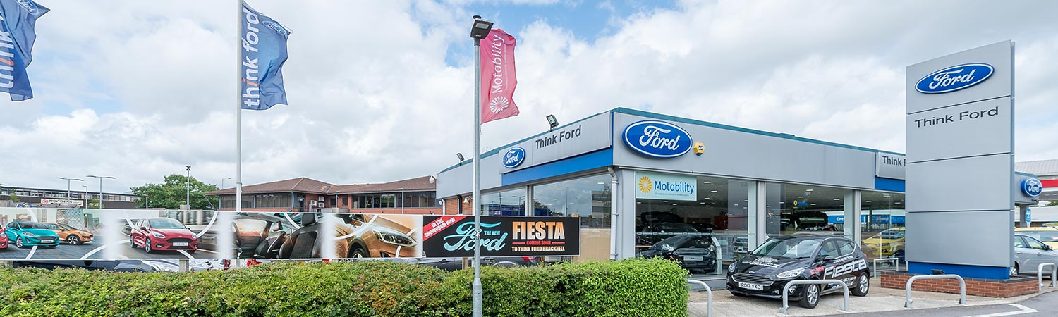 Ford Dealer In Bracknell Berkshire Contact Us Think Ford