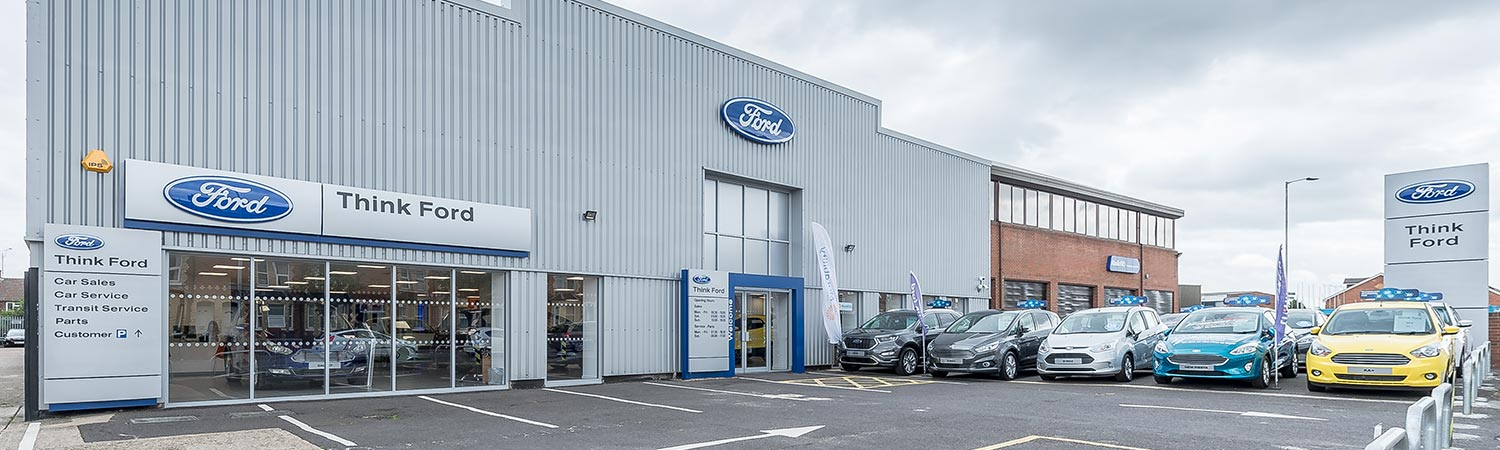 Ford Dealer In Reading Berkshire Contact Us Think Ford