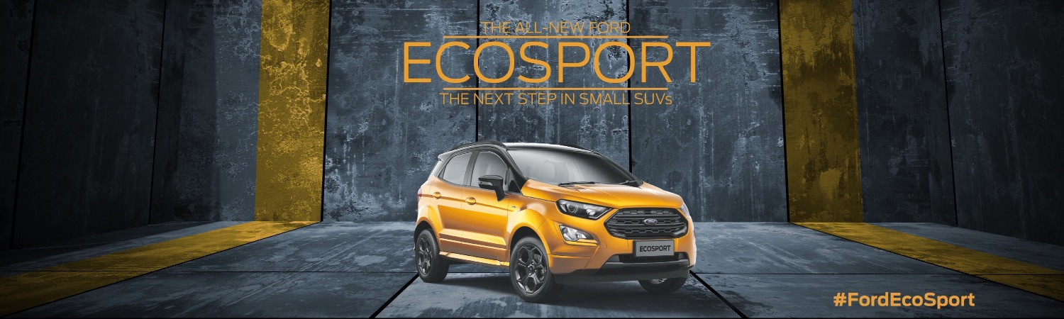 Grab a sneaky peak of the All-New Ford EcoSport