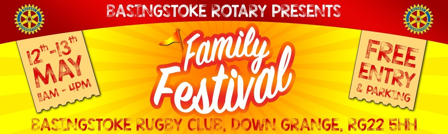 Basingstoke Rotary Club Family Festival 2018