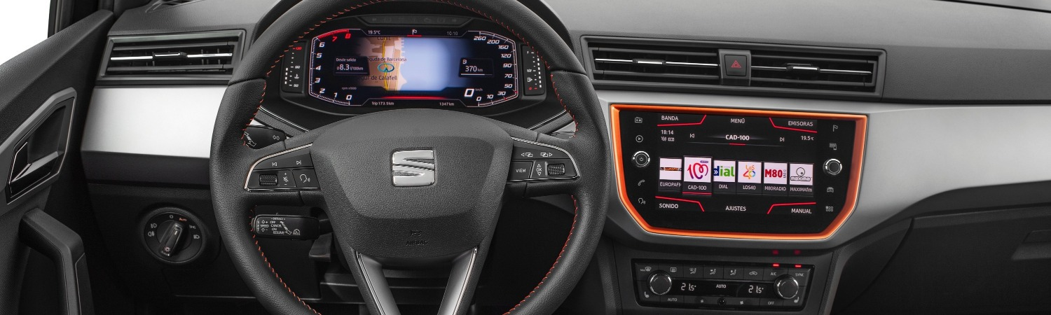 SEAT INTRODUCES ITS DIGITAL COCKPIT TO THE ARONA AND IBIZA