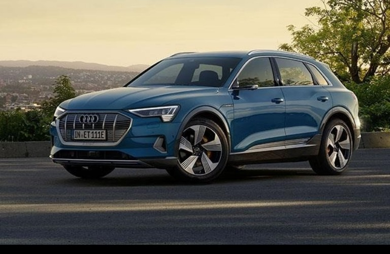 Electric has gone Audi.